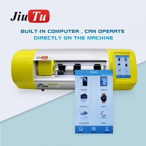 Film Cutting Machine For Mobile Phone Tablet Front Glass Back Cover Protect Film Cut Tool Protective Tape