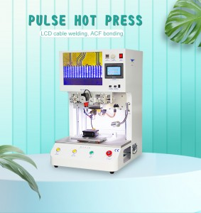 2021 Newest Free Shipping Pulse Hot Press Machine for Flexible Flat Cable FFC Hard Circuit Board Printed Circuit Board Welding