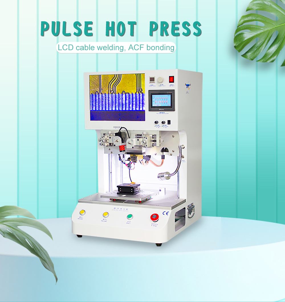 2021 Newest Free Shipping Pulse Hot Press Machine for Flexible Flat Cable FFC Hard Circuit Board Printed Circuit Board Welding Featured Image