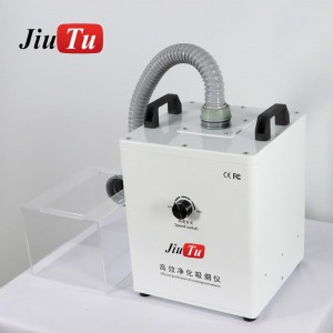 Mini Smoke Absorber Air Purifier With Box For Fiber Laser Machine