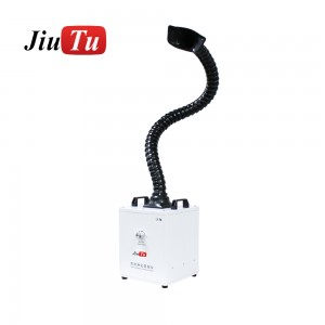 Mini 150W Smoke Absorber Knob Adjustment Fume Extractor Soldering Air Purifier Machine