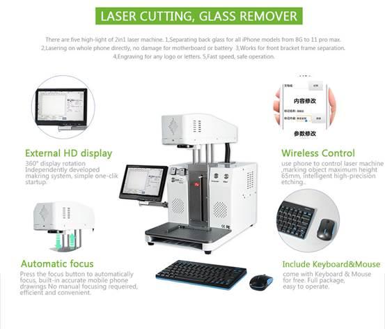 Popular Hot Laser Separating And Engraving Machine