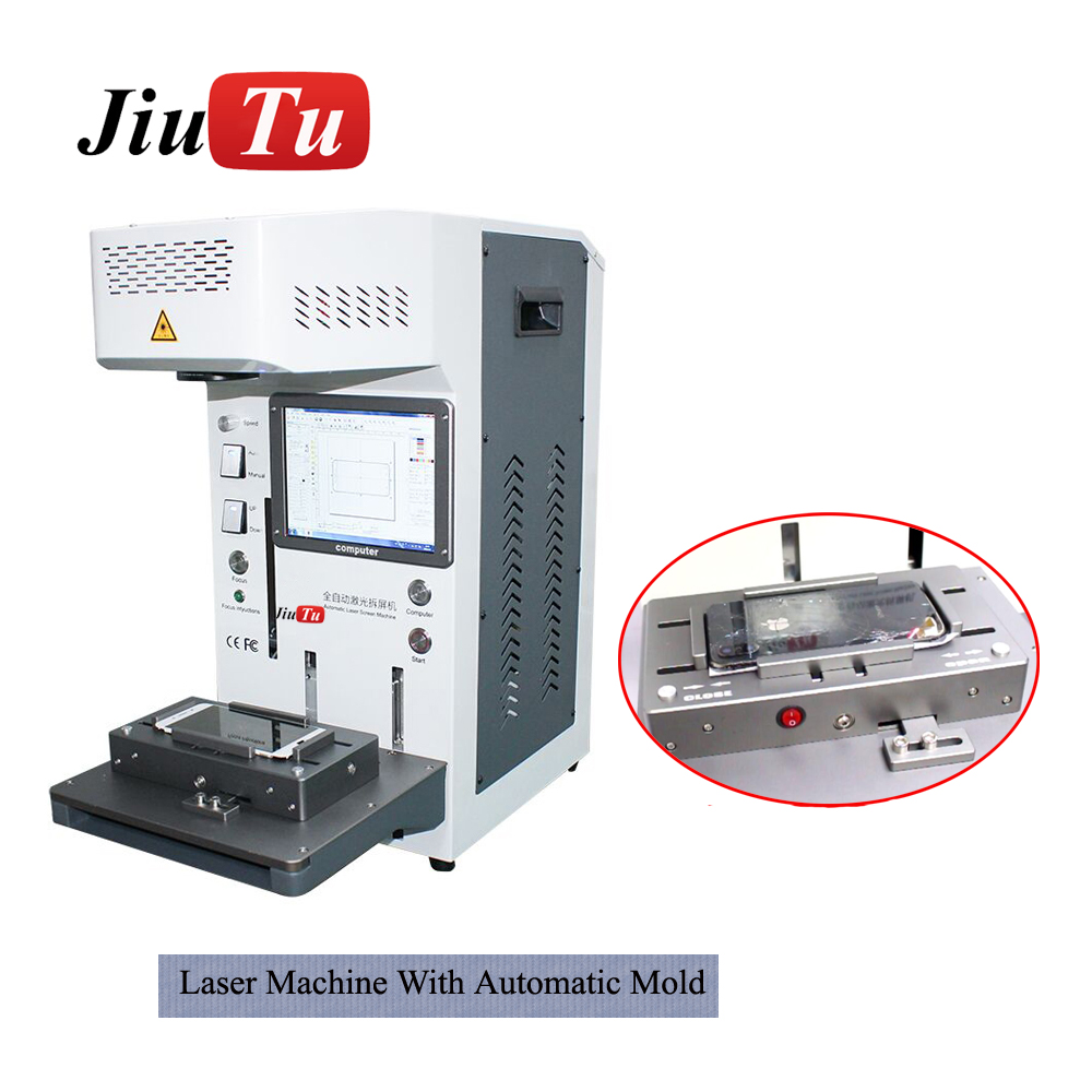 Laser Separating Machine 20W Laser Cutting For iPhone Back Cover Glass LCD Screen Frame Remove Laser Marking Engraving Machine Featured Image