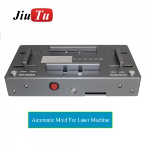 20W Optical Fiber Laser Engraving Marking Mobile Back Cover Frame Separator Separating Machine For iPhone