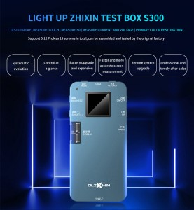 LCD Tester For iPhone 11Pro MAX XS XR X 8 7 6S Programmer Ambient Light Sensor True Tone 3D Touch Screen Display Testing
