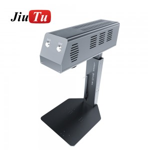 Laser Separator Engraving Etching Machine Automatically Remove Back Glass Glue Separating Mobile Phone Frame Holder