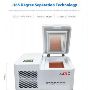 Mini Desktop -185 Degree Edge Phone Repair Machines LCD Separator Jiutu Freezer Separating Machine