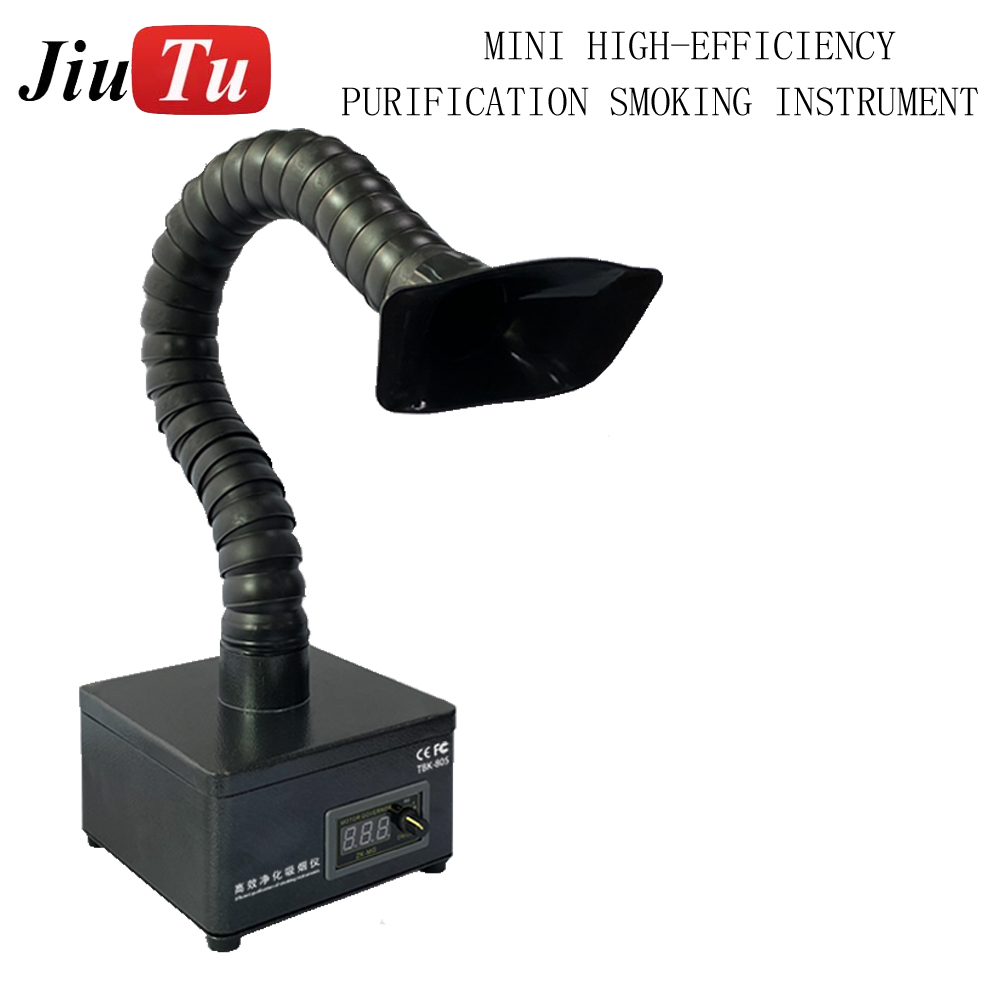 The New Mini High-efficiency Purification Carbon Fiber Filter Smoking Purifier Fume Extractor