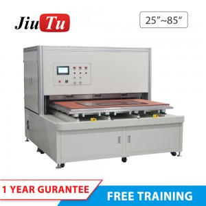 Fully Automatic 65 Inch Lcd Screen Repair Vacuum Oca Bonding Laminating Machine For Tv Screen Computer