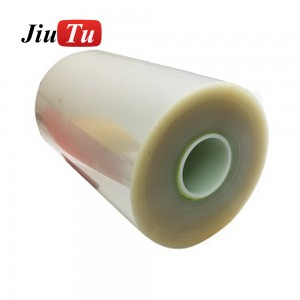1 Roll 150um SCA Hot Melt Glue Film Glass to Glass Lamination G+G Bonding Rigid to Rigid Laminator Machine Jiutu