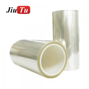 500um SCA Glue Film For Large TFT Screen Double Side Sticker For Tablet TV Education Big Screen Lamination